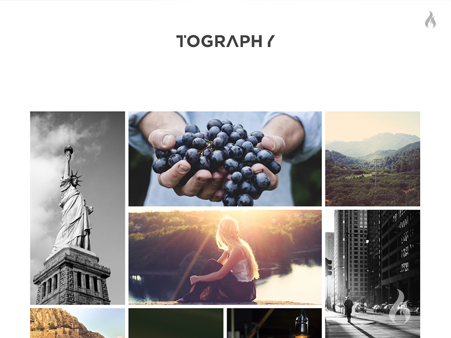 Tography - WP Theme for Photographer & Freelancer